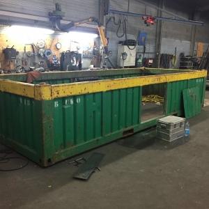 Gecertificeerde reparatie containers