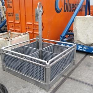 RVS ROV basket