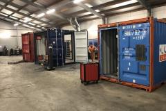 Diversen containerbouw