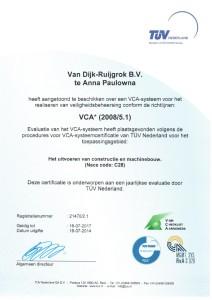 VCA Verklaring