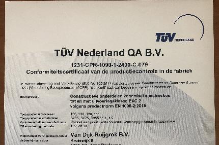 (Nederlands) Nieuwe certificaten behaald!