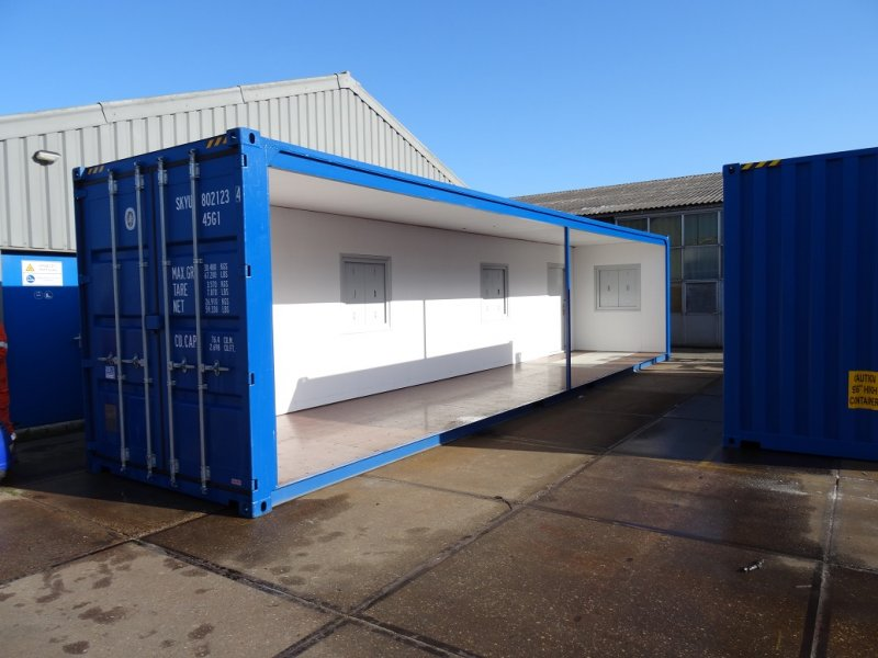 (Nederlands) Afgeleverde containers